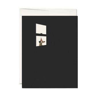 Jon Klassen(ジョン クラッセン)のイラストレーションのカード。ポストカード グリーティングカード メッセージカード レターセット 封筒付き 絵はがき 贈る 送る お祝い 誕生日カード バースデイカード レッドキャップカード RED CAP CARDS アメリカ 厚い シック 外国 輸入 海外 インテリア おしゃれ かわいい 人気 おすすめ デザイン ブランド 画像 プレゼント 通販 窓