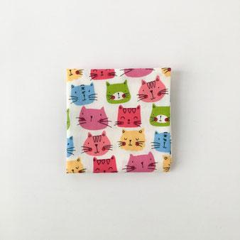 """タイのハンカチ(猫)(象) Handkerchief of Thai """"Cats"""" """"Elephants"""""""