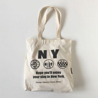"""ユーズドのトートバッグ「NY」 Used Tote Bag """"NY"""""""