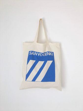 """ユーズドのトートバッグ「山洋電気」 Used Tote Bag """"SANYO DENKI"""""""