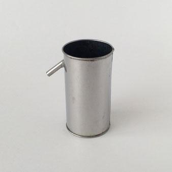 実験用 教材 ステンレスカップ 理科 テストカップ ペンスタンド 鉛筆立て