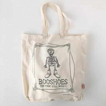 """ユーズドのトートバッグ「ブーシューズ」 Used Tote Bag """"BOO SHOES"""""""