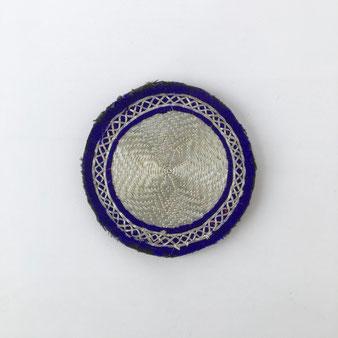 アフガニスタンの刺繍のブローチ Afghan Embroidery Brooch