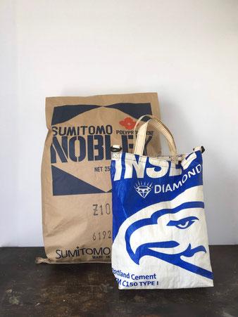 セメント袋のバッグ Cement Sack Bag