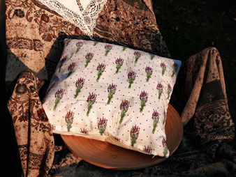 Lavendel-Sträusschen (40x40cm)