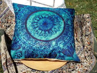 Mandala, blau-türkis
