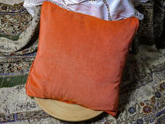 Feincord, orange