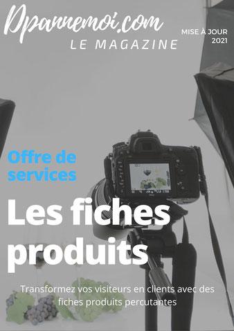 Rédaction web : les fiches produits