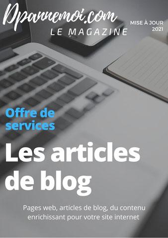 Rédaction web: les articles de blog