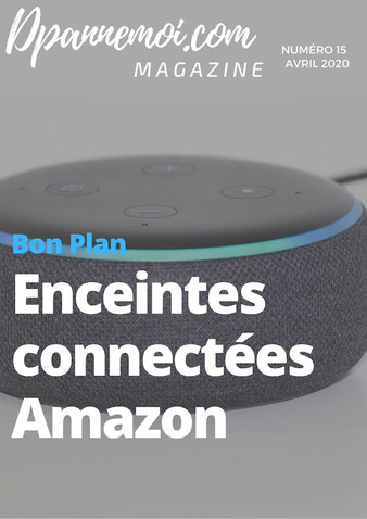 les enceintes connectées Amazon