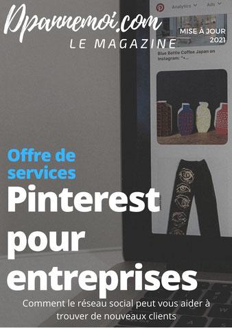 Pinterest pour entreprise, community manager montpellier