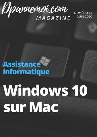 Comment installer windows 10 sur Mac, assistance informatique Mac