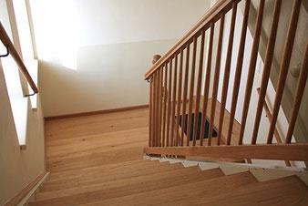 Holzstiege Treppenhaus