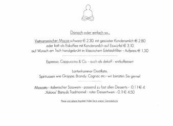 Speisekarte Madame Kim Monsieur Minh Augsburg datschiburger.kitchen Hauptspeisen und Danach