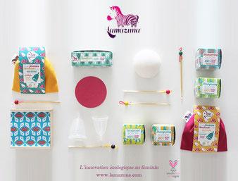 Vegan umweltbewusst Kosmetik Menstruationstasse Cup Lady Frau Frauen Monatshygiene Hygiene Abschminken Haarseife Ohrstäbchen feste Zahnpasta wiederverwendbar Abschminkpads