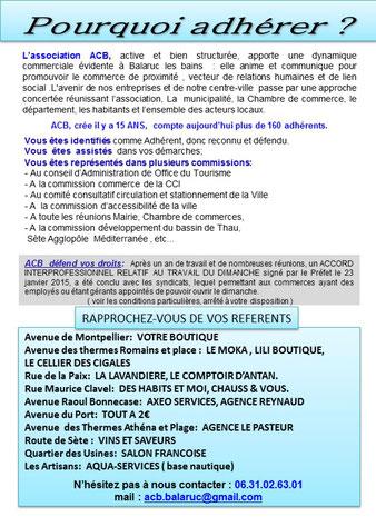 ACB Balaruc les Bains
