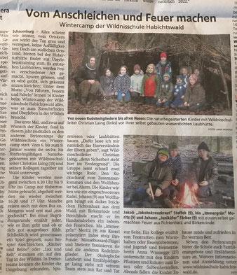 Wintercamp - Fährten, Feuer & Fabeln