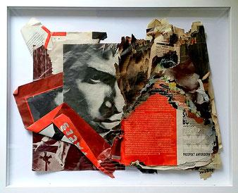 Magnus, Collage, 34 x 45,7 cm, 2018