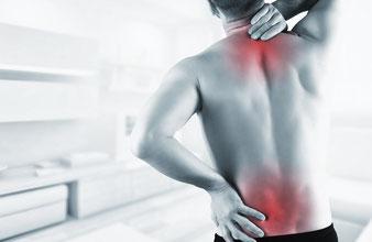 Rückenschmerzen, Nackenverspannungen, Hexenschuss