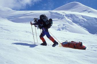 1990 am Mt. McKinley, heute Denali, 6190 m