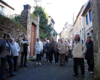 dans les rues de Montcontour