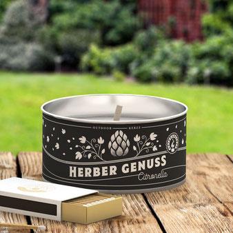 Gartenlichter mit Citronella - von Engels Kerzen