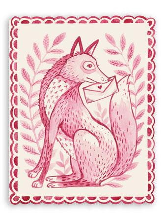 """Grußkarte """"You're a Fox"""" aus der Papeterie von Hester & Cook"""