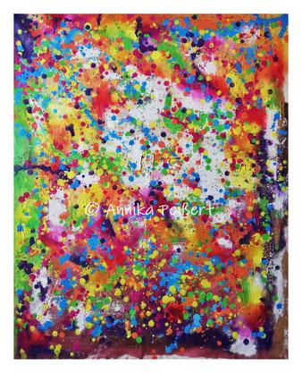Acryl auf Baumwoll-Maltuch, ca. 100 x 80 cm