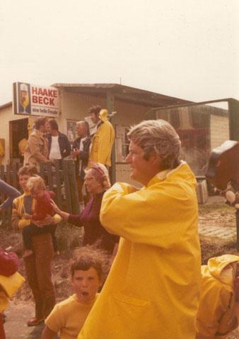Nordseewetter am Kiosk 1971