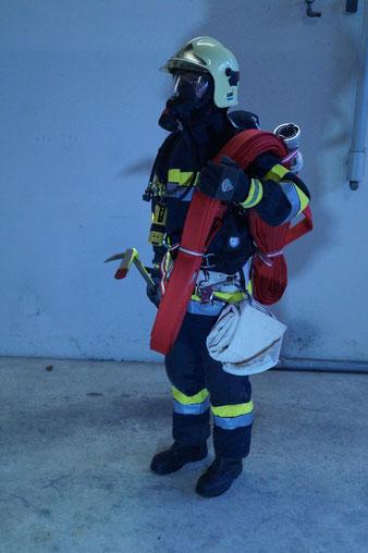 Einsatzbekleidung Brandeinsatz