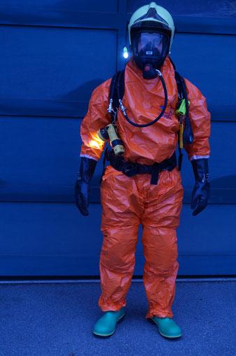 Einsatzbekleidung Gefahrenguteinsatz