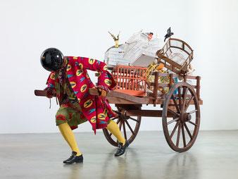 Yinka Shonibare CBE, The Bird Catcher's Dilemma, 2019–2020, Courtesy of the artist and Stephen Friedman Gallery, London, Photographer: Stephen White