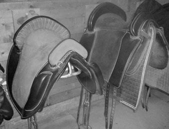 Der richtige Sattel ist wichtig für ideales Reiten.