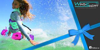 WindSucht Gutschein, Gutschein für den Kite Surf Shop NRW