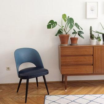 Thonet-Sessel Midcentury Interieur