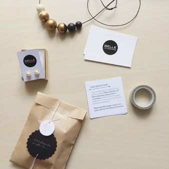 Verpackungsdesign Belle Accessoires