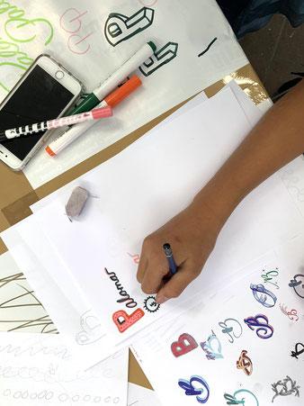 Kalligrafie Workshop für Jugendliche (mehr...)