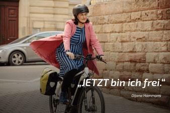 Werbe-Kampagne »Fahr Rad« Protagonistin (mehr..)