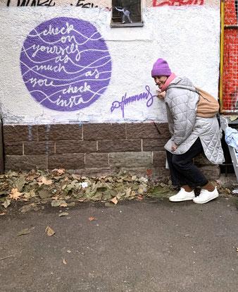 Taschen-Motiv bei »Hall Of Fame« CLRZ - Graffiti Shop