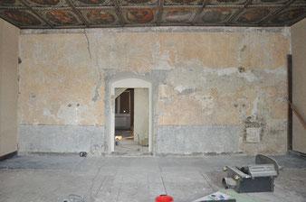 restauration, peintures murales, Atelier Bacher Tillmanns Vaud
