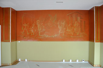Pierre Estoppey, Ost-Wand, nach den Massnahmen, Atelier Bacher Tillmanns Vaud