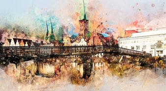Lübeck - Malerwinkel