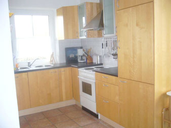 Die Küche ist mit allem ausgestattet was man braucht
