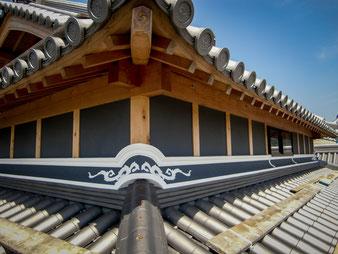 左官 久住有生 施工作品 伝統建築 『淡路の民家「しころだち」』