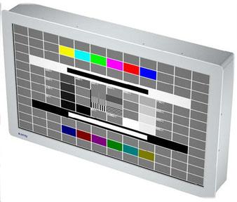 Monitore mit Industrieschutzklasse IP54 bis IP65