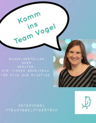 Komm ins Team Vogel