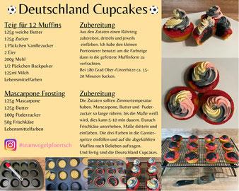 Deutschland Cupcakes