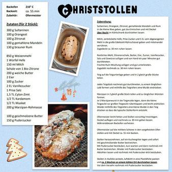 Christstollen aus dem Ofenmeister von Pampered Chef