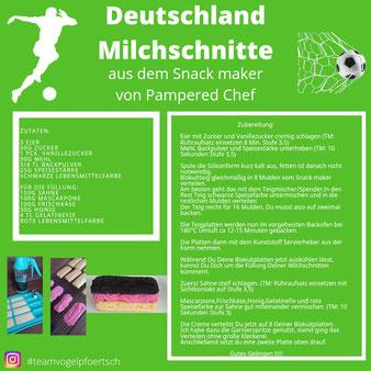 Deutschland Milchschnitte