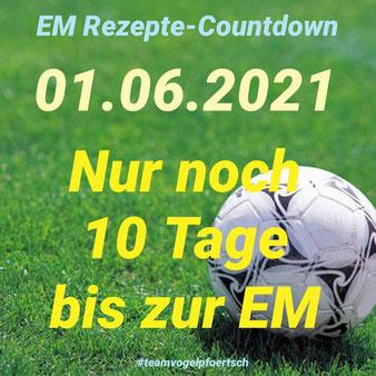 Noch 10 Tage bis zur EM 2021